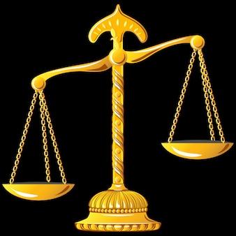 正義の金の鱗