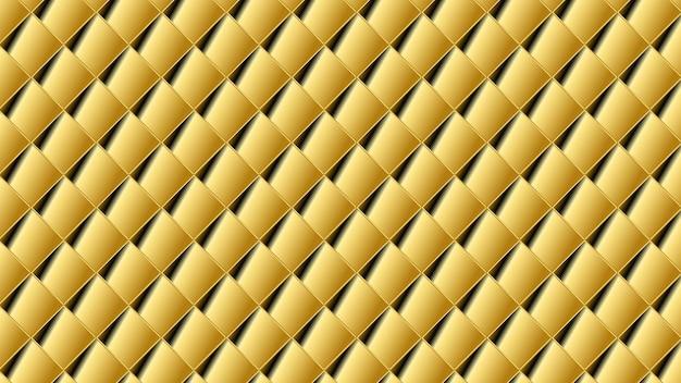 金の形抽象的な幾何学模様