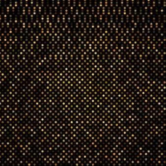 빛나는 황금과 검은 색 paillettes와 골드 쉬머 배경