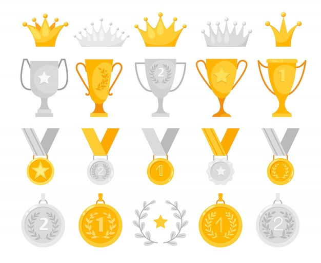 Gold and silver awards set