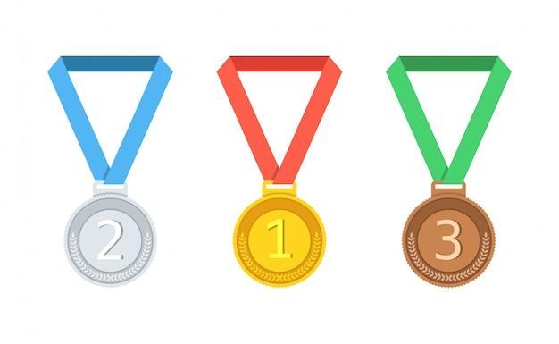 금은, 동메달