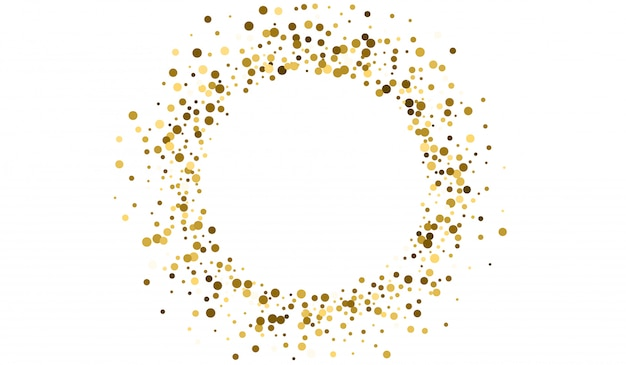 Gold sparkle paper design. abstract rain pattern