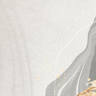 大理石の背景ベクトルに金のスプラッタ