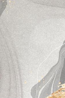 大理石の背景にゴールド スプラッタ