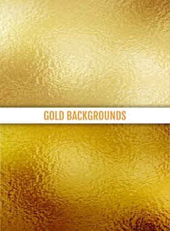 Gold textured background.