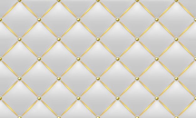 Gold and white leather texture