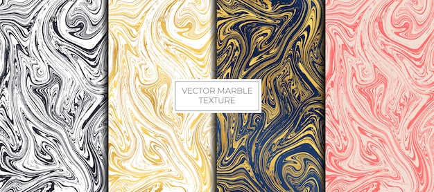 Gold and white marble design. marbling texture