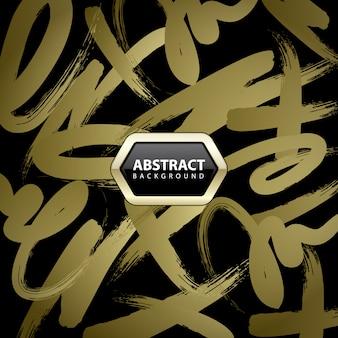 Золотой абстрактный фон