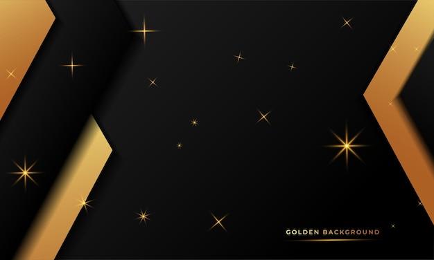 黄金の抽象的な背景