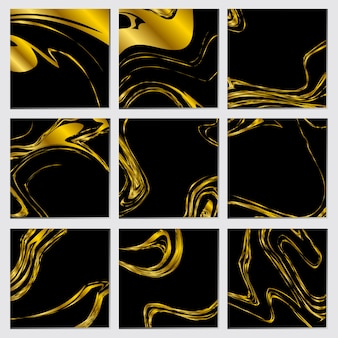 Golden abstract luxury concept background