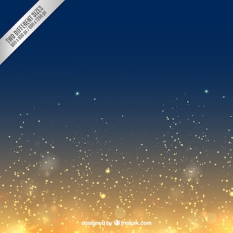 Golden and navy blue background in shiny style