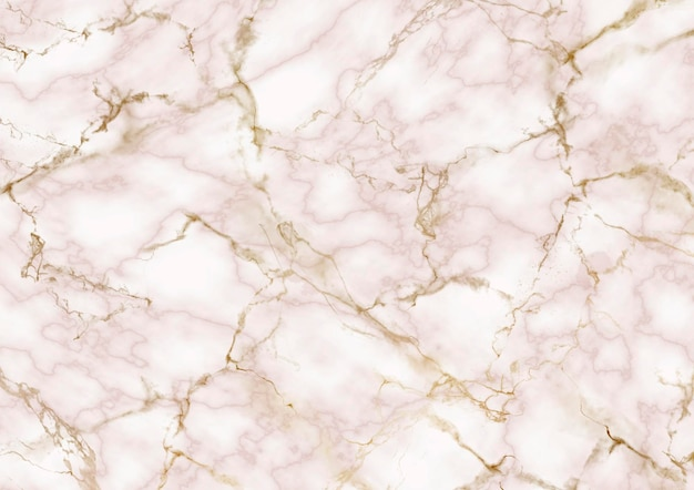 金色とバラ色の大理石の質感