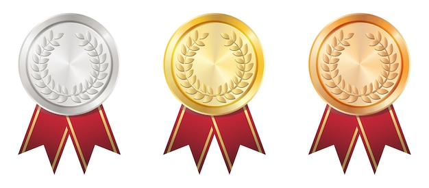 A golden badge  vector