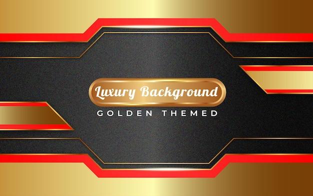 ゴールデンブラックの背景テンプレート