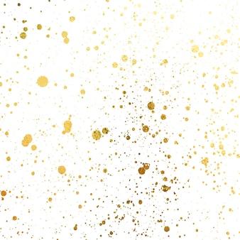Золотые кляксы гранж городской фон текстура вектор пыль наложение бедствие зерно золотой краской брызги ...