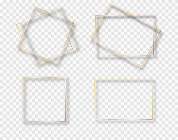 Golden border frame