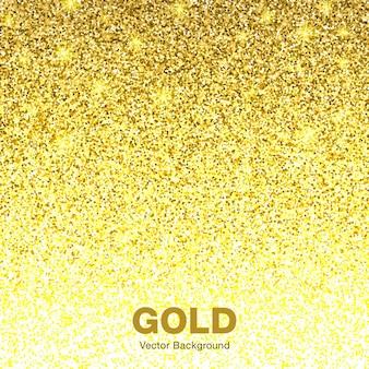 黄金色の明るく輝くグラデーションの背景。ジュエリーゴールド背景コンセプト。