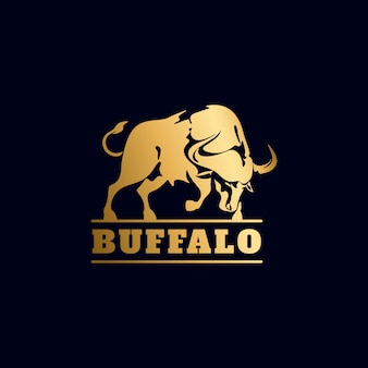 Golden buffalo logo