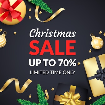 Golden christmas sale
