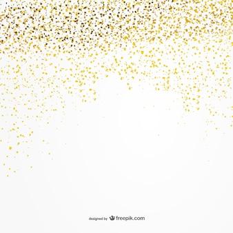 Golden coriandoli sfondo