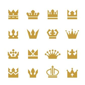 Коллекция золотые коронки