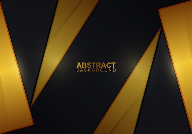 Golden and dark stripes background. vector illustration. abstract background.