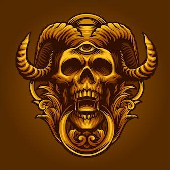 The golden devil