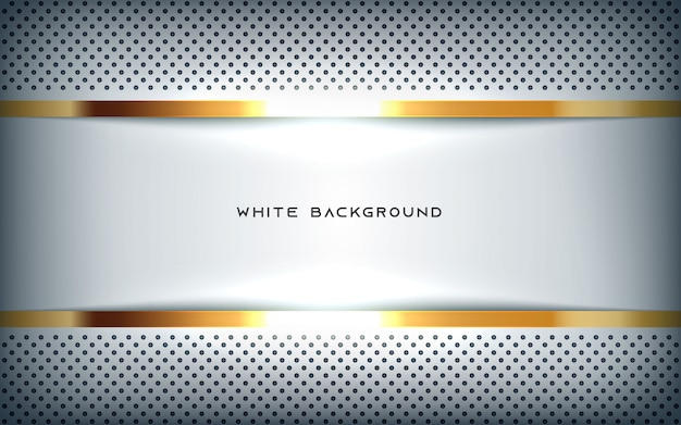 Golden and dotted background Premium Vector