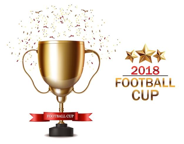 Golden football cup 2018