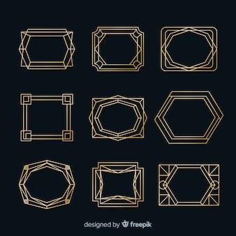 Золотая рамка коллекции