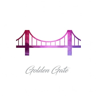 Golden gate, polygonal