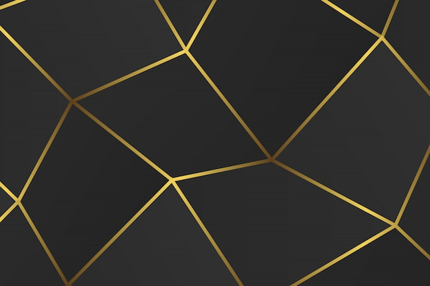 Golden geometric abstract pattern.