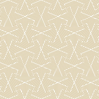 Golden geometric seamless line pattern