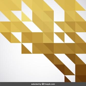 Golden geometrical background