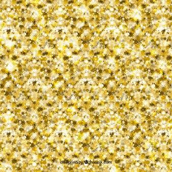 黄金の輝きの背景