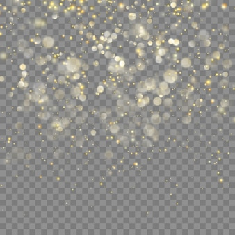 Golden glitter christmas abstract effect for luxury greeting rich card.