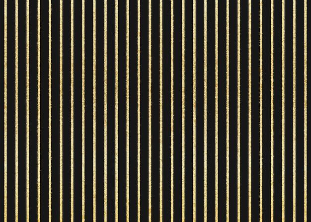 Золотой блестящий полосатый узор. вертикальные золотые полосы. черный фон.