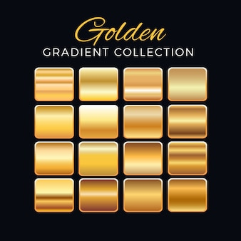 Golden gradient blocks collection