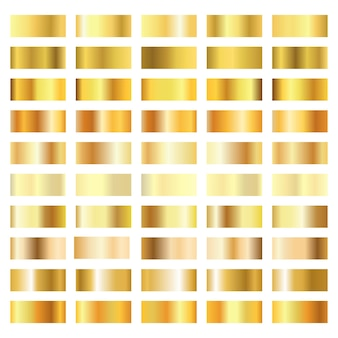 Golden gradient collection isolated