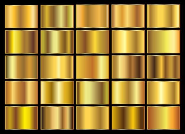 Golden gradients set