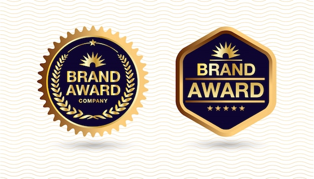 Golden label, brand award
