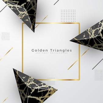Golden marble luxury background