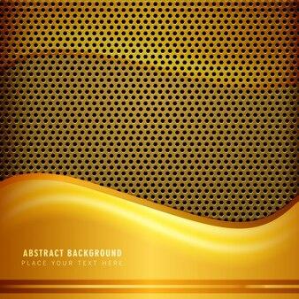 Золотой металлический фон