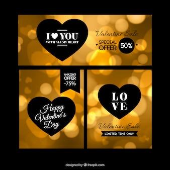 Oro offre san valentino pacchetto