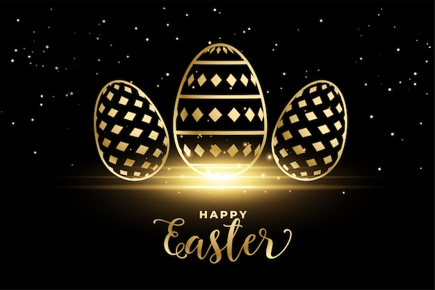 Золотые яйца для праздника пасхи