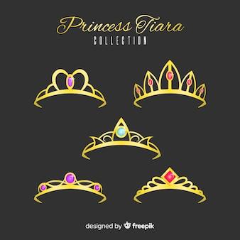 Tiara principessa d'oro
