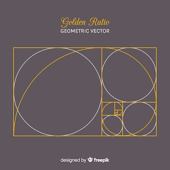 Golden ratio background