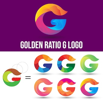 Логотип золотого сечения g