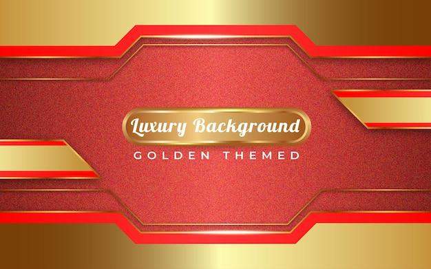 黄金色の背景テンプレート