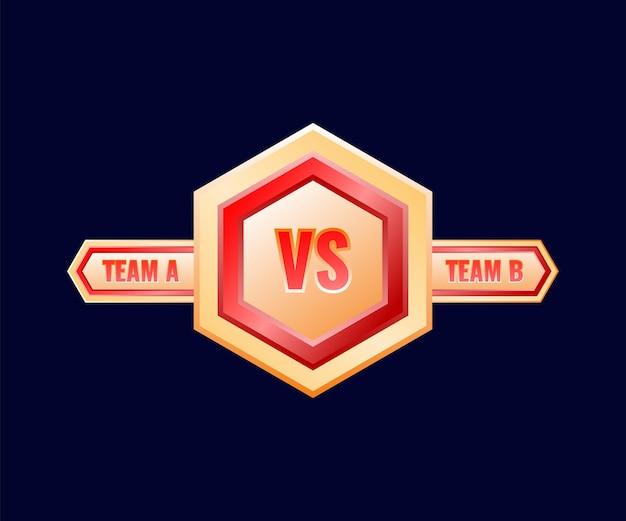 ゴールデンレッドの光沢vsメダルバッジフレーム